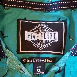 Five Point Shirts & Tops - Five point Tucan dress shirt